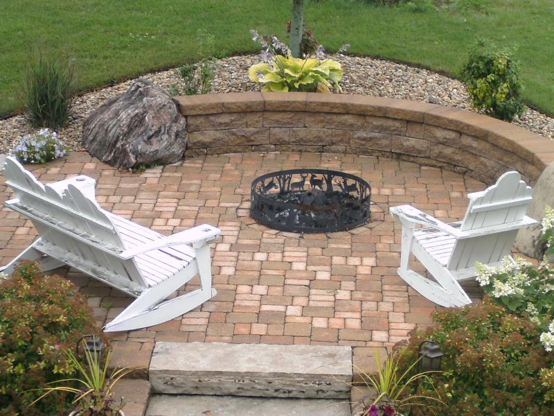 Inexpensive Backyard Fire Pits : Inexpensive Fire Pit Ideas  From User Submitted