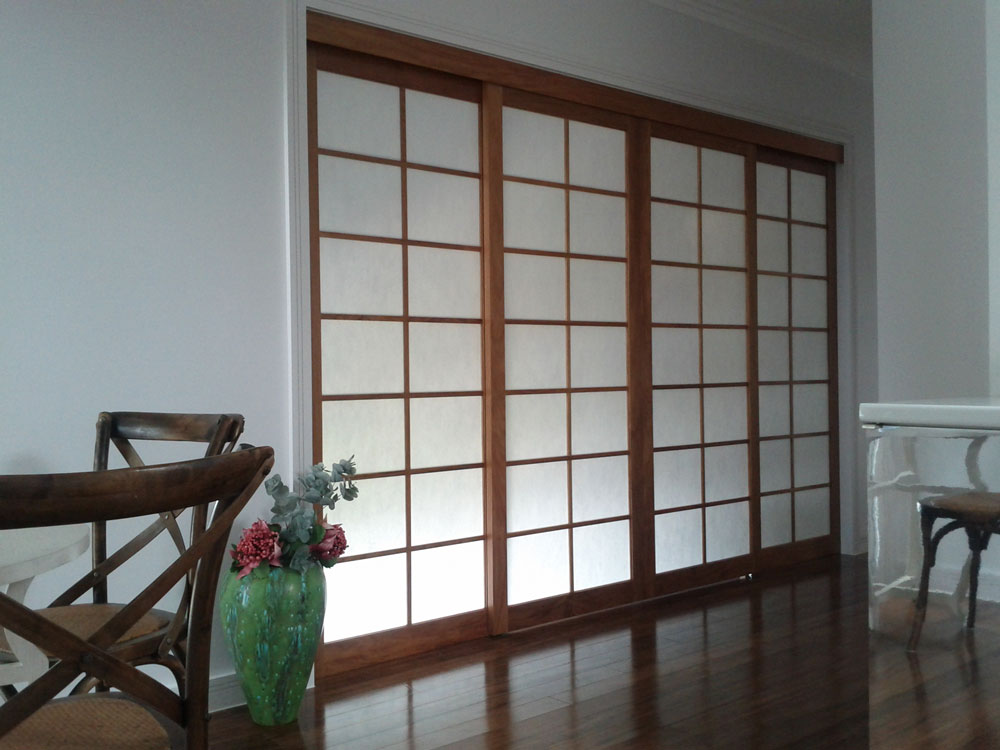 Japanese Sliding Panels