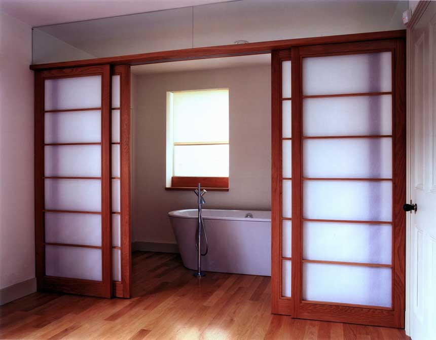 Interior sliding doors for bathroom - Japanese Style Sliding Closet Doors From User Submitted