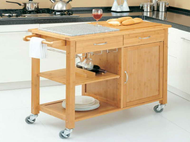 Kitchen Island With Drop Leaf Seating
