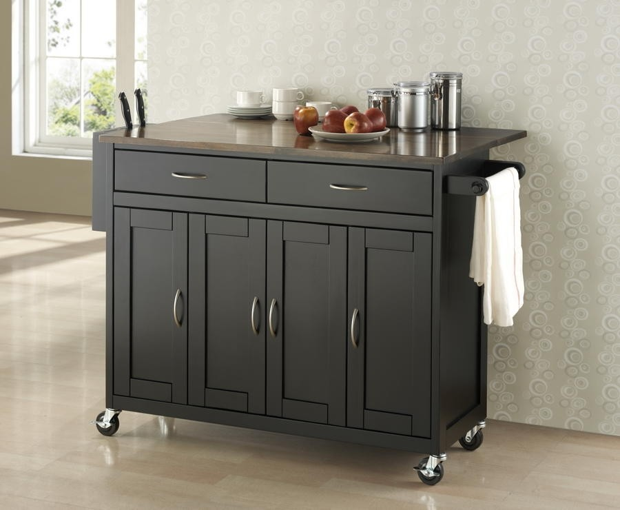 Discover Extra Counter Space with Kitchen Island Carts