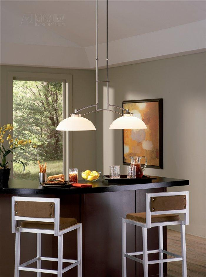 light fixtures kitchen island