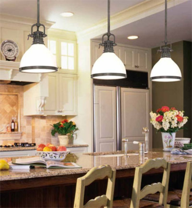 Hanging Kitchen Lights Over Island: Kitchen Island Pendant Lighting