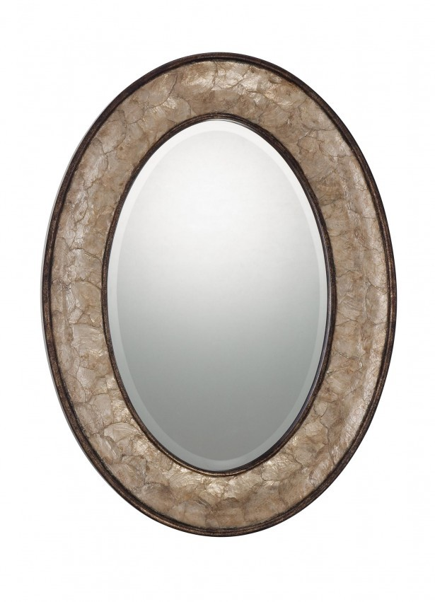 Oval Bath Mirror