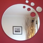 Oval Beveled Bathroom Mirror