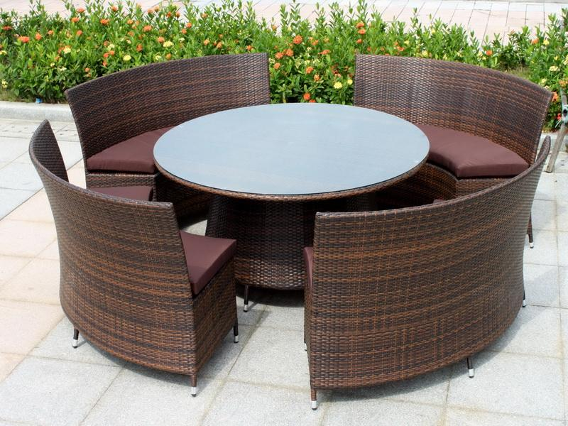 Relax with Resin Wicker Outdoor Furniture