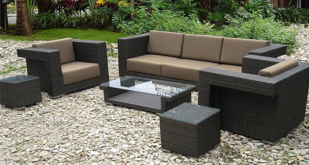 Resin Wicker Outdoor Furniture Set A Creative Mom