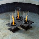 Table With Fire Pit