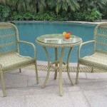 Wicker Bistro Tables