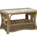 wicker patio table