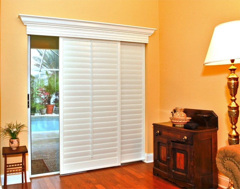 Sliding Glass Door Shutter Ideas 798 x 627