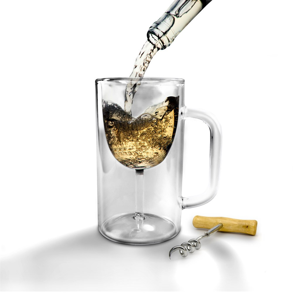 Beer Mug Wine Glass