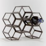 Metal Wine Wall Decor