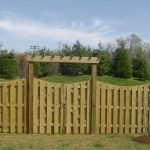 Shadow Box Fence Gate
