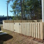 Shadow Box Fence Panels