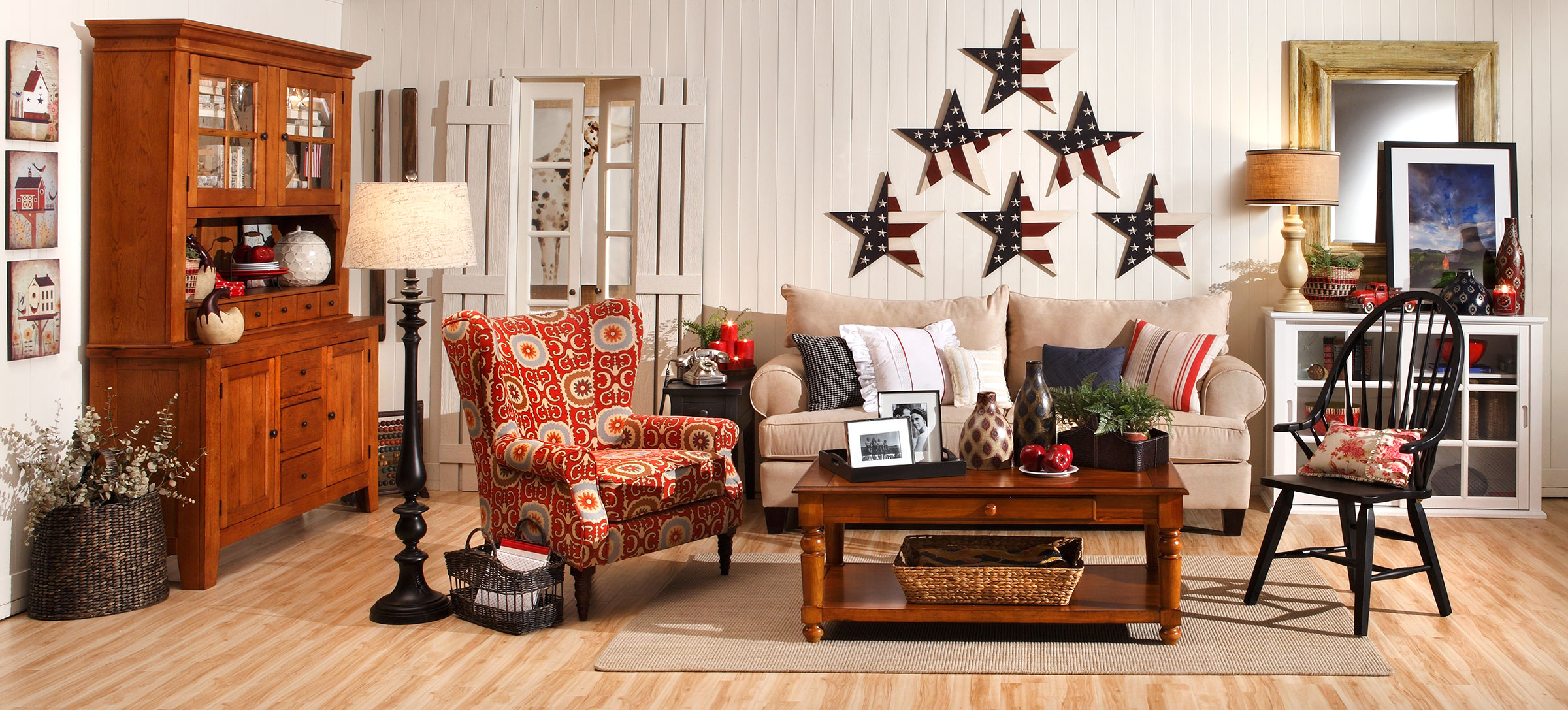 Americana Home Décor – Red, White and Blue Décor for Your Home