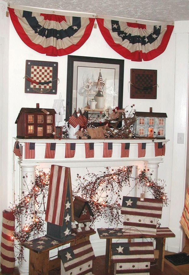 Americana home decorating ideas