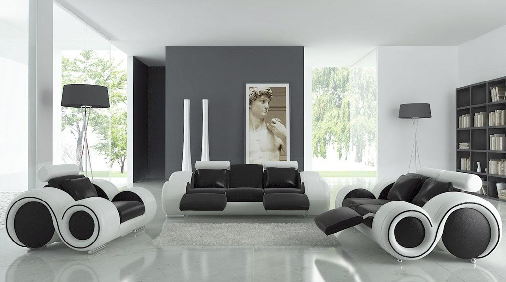 Black and white room decor ideas
