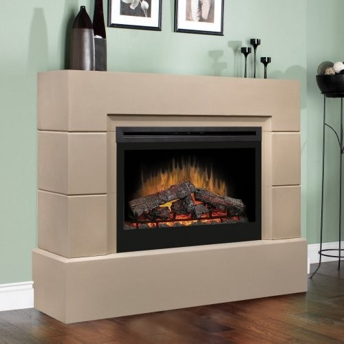 Contemporary gas fireplace inserts