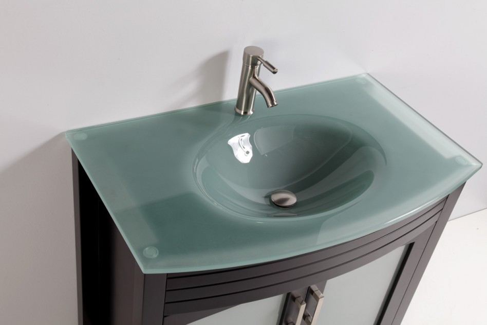 Corner bathroom vanities and sinks