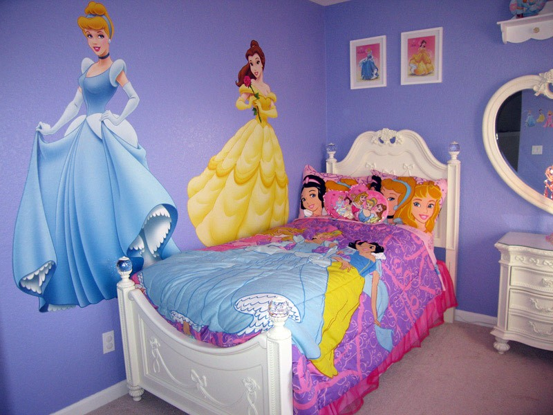 Disney princess home decor