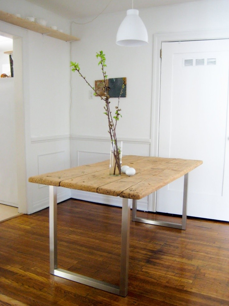 Diy rustic dining room table
