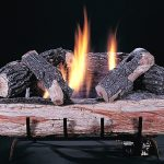 Gas Fireplace Log