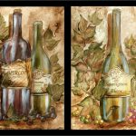 Grape And Wine Kitchen Decor