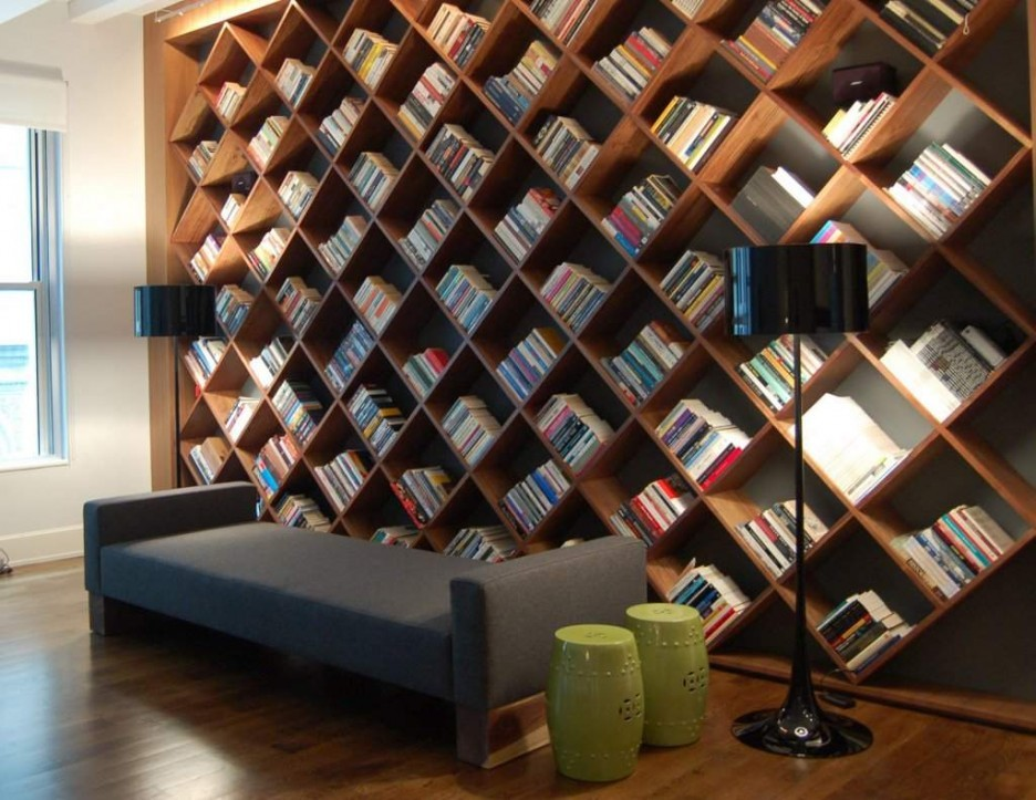 Interesting Home Library Design Ideas