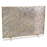 Iron Fireplace Screens