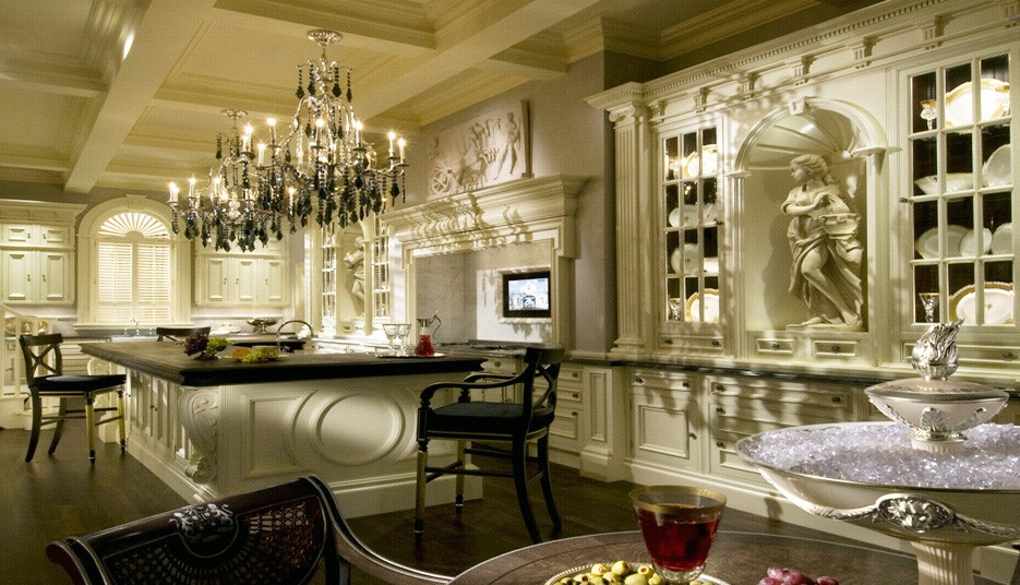 Luxury home accents