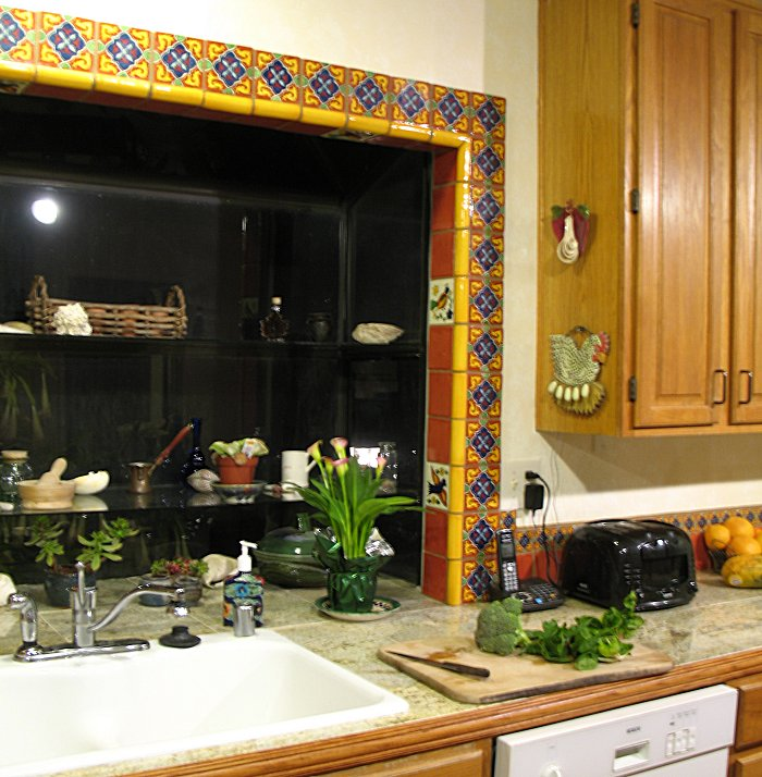 Mexican kitchen decor