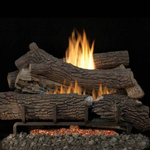 Replacement gas fireplace logs