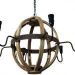Restoration Hardware Wine Barrel Chandelier