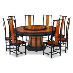 Round Dining Room Tables For 8