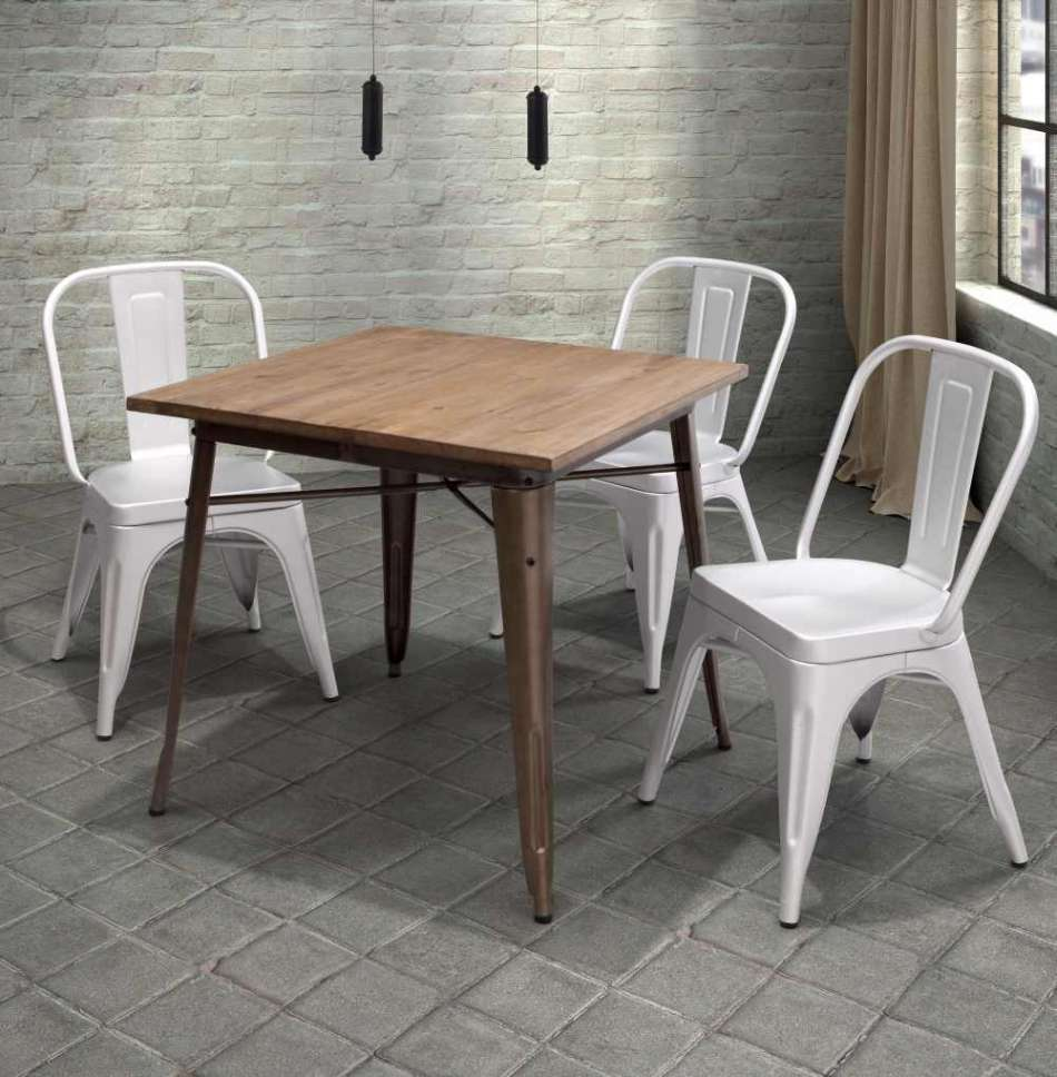 Rustic dining room table sets