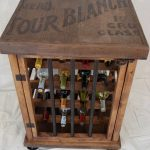 Rustic Wine Rack Table