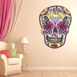 Skull Wallpaper Home Decor