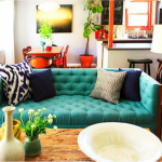 Turquoise And Yellow Home Decor