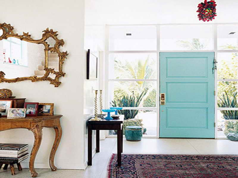 Turquoise decorations for home
