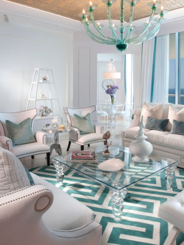 Turquoise home accents