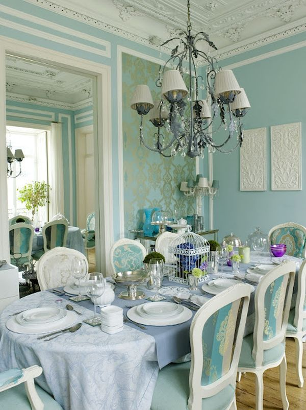 Beautiful Turquoise Home Decor Ideas