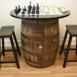 Wine Barrel Tables