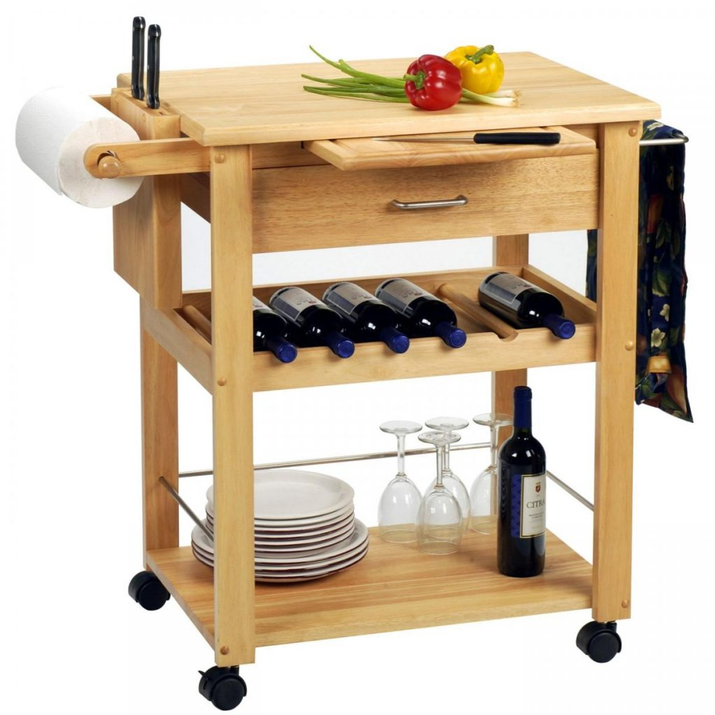 Wine Buffet Table