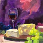 wine canvas wall art