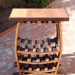 Wine Rack Table Bar Furniture