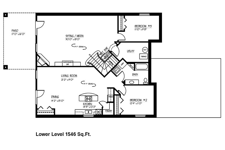 Basement floor plan ideas