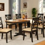 Black Dining Room Table And Chairs 1024×791