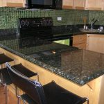 black-leather-granite-countertops