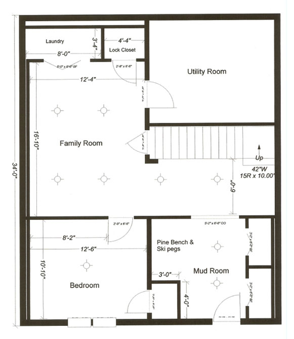 Floor plans with basement